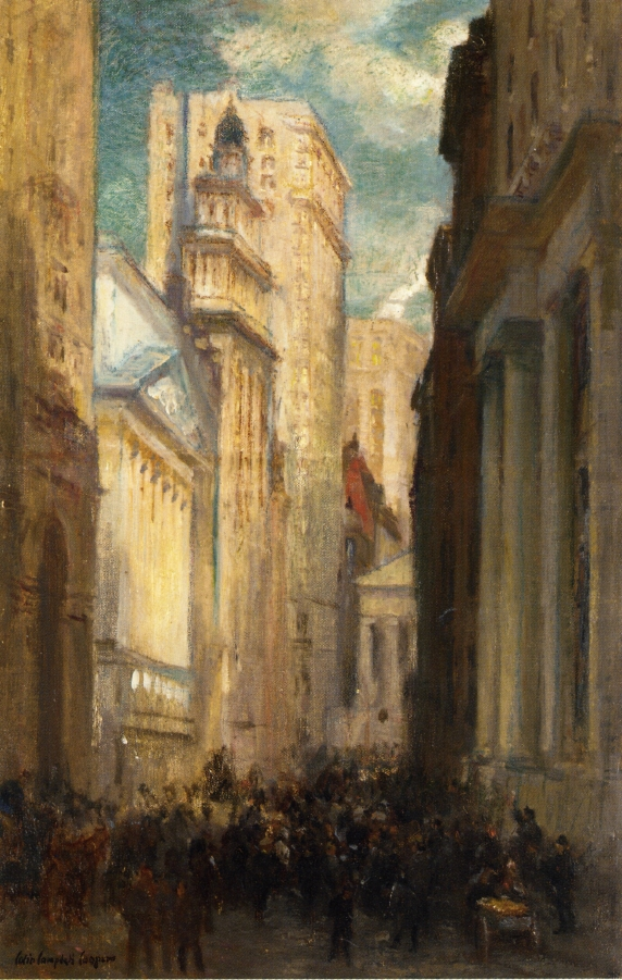 Wall Street – Colin Campbell Cooper