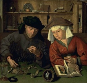 The Banker And His Wife - Quentin Metsys