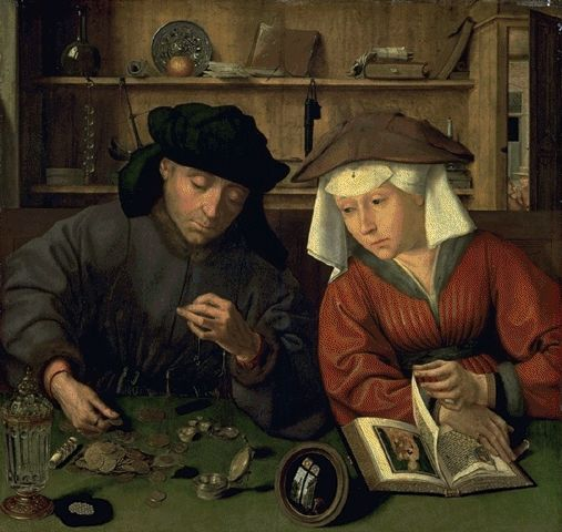 The Banker And His Wife – Quentin Metsys