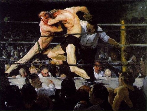 Stag at Sharkeys – George Bellows