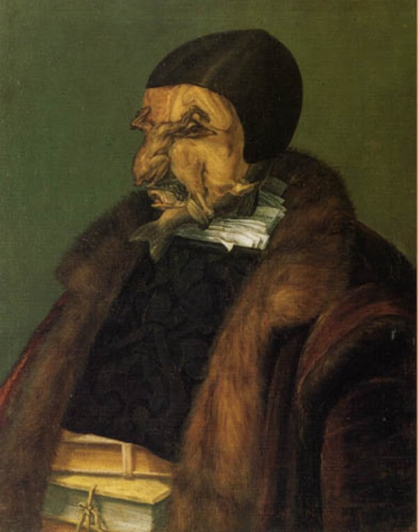 The Jurist – Giuseppe Arcimboldo