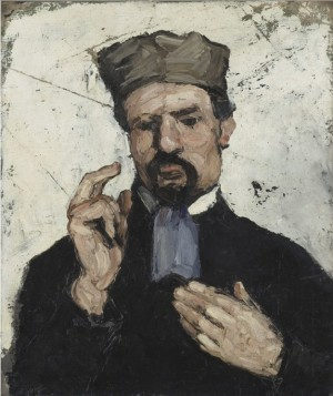 Uncle Dominique The Lawyer - Paul Cézanne