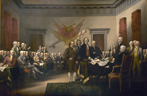 The Declaration of Independence – John Trumbull