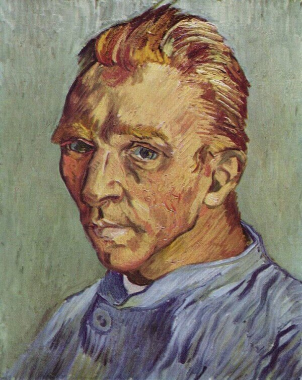 Portrait of the artist without beard – Vincent Van Gogh