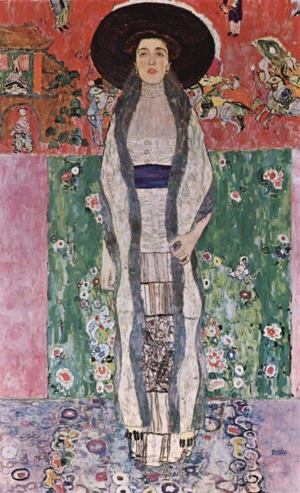 Adele Bloch-Bauer II – Gustav Klimt