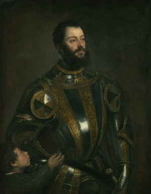 Portrait of Alfonso d'Avalos