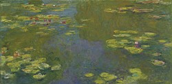 Le Bassin Aux Nymphéas (Water Lily Pond) - Claude Monet