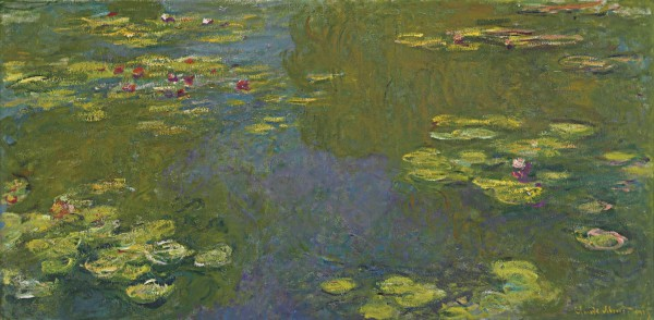 Le Bassin Aux Nymphéas (Water Lily Pond) – Claude Monet