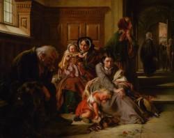 Waiting For The Verdict - Abraham Solomon