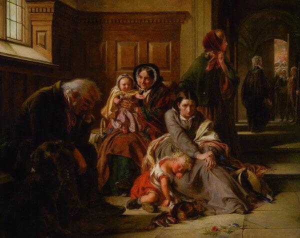 Waiting For The Verdict – Abraham Solomon