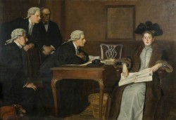 Defendant and Counsel - William Frederick Yeames