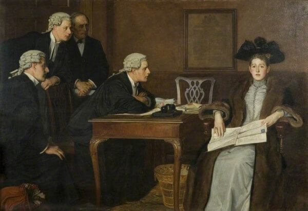 Defendant and Counsel – William Frederick Yeames