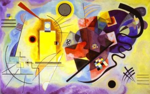 Yellow Red Blue - Wassily Kandinsky