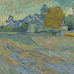 View of the Asylum and Chapel of Saint-Rémy - Vincent Van Gogh