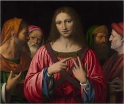 Christ among the Doctors - Bernardino Luini