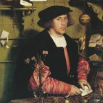 Portrait of the Merchant Georg Gisze - Hans Holbein the Younger