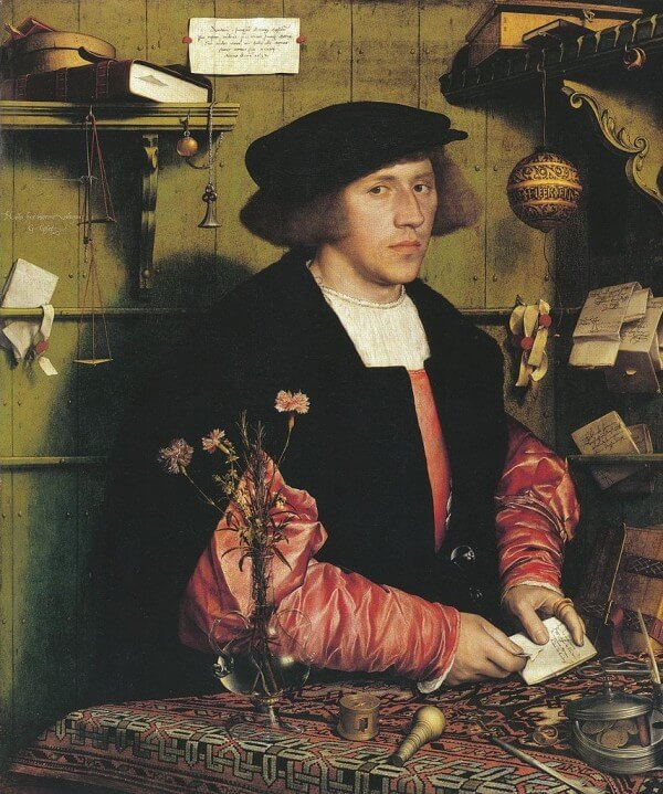 Portrait of the Merchant Georg Gisze – Hans Holbein the Younger