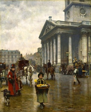 St. Martin in the Fields - William Logsdail