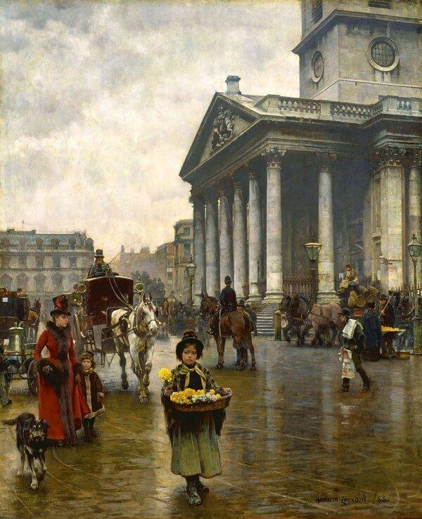 St. Martin in the Fields – William Logsdail