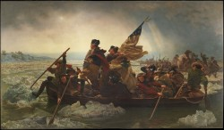 Washington Crossing the Delaware - Emanuel Gottlieb Leutze
