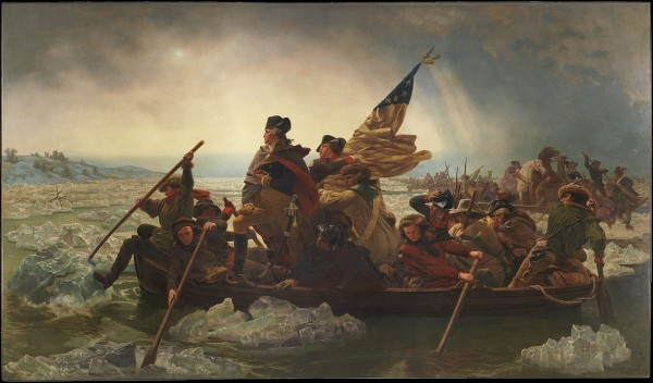 Washington Crossing the Delaware – Emanuel Gottlieb Leutze