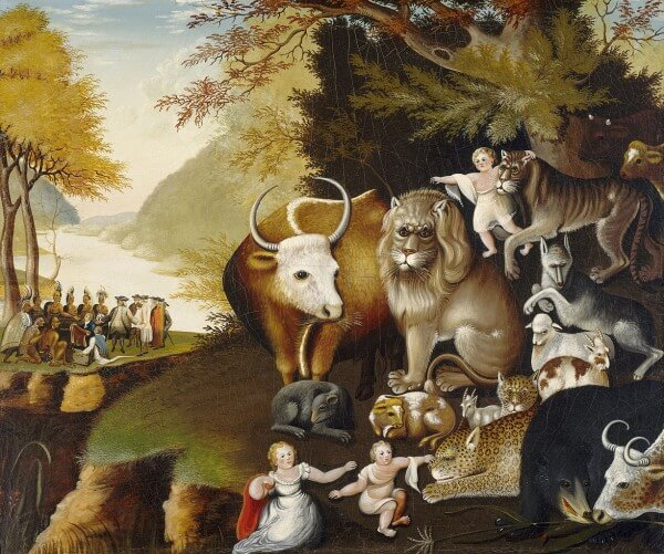Peaceable Kingdom – Edward Hicks