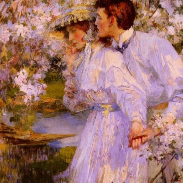 In The Springtime - James Jebusa Shannon