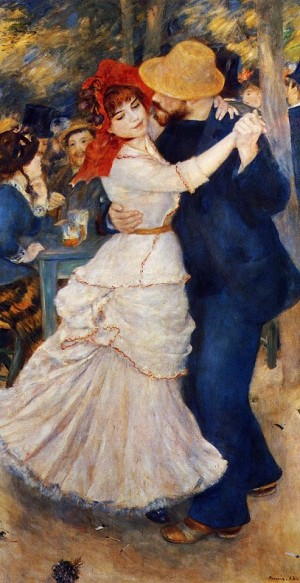 Dance at Bougival - Pierre-Auguste Renoir