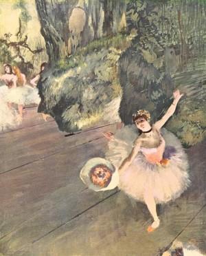 Dancer Taking a Bow - Edgar Degas