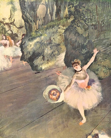 Dancer Taking a Bow – Edgar Degas