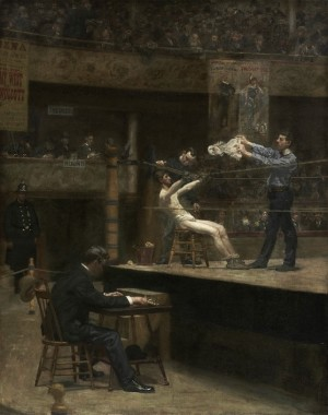 Between Rounds - Thomas Eakins
