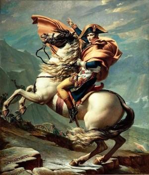 Napoleon Crossing the Alps - Jacques-Louis David