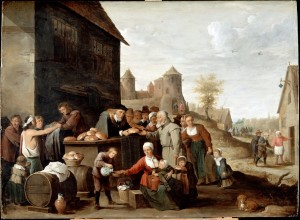 The Works of Mercy - David Teniers the Younger