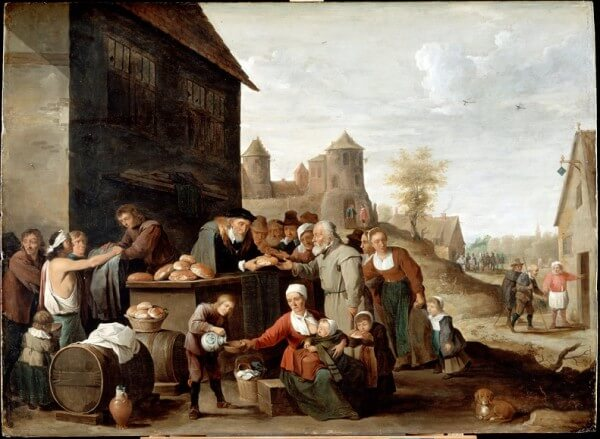 The Works of Mercy – David Teniers the Younger