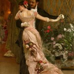 The End of the Ball - Rogelio de Egusquiza
