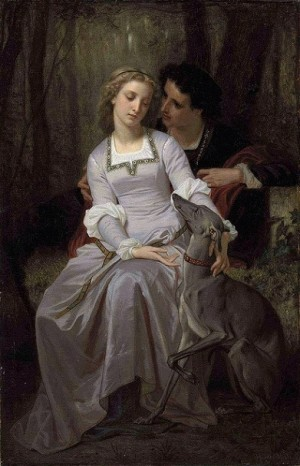 Tristan and Isolde - Hugues Merle