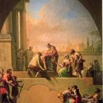 Charity of Saint Elladius of Toledo - Francisco Bayeu y Subias