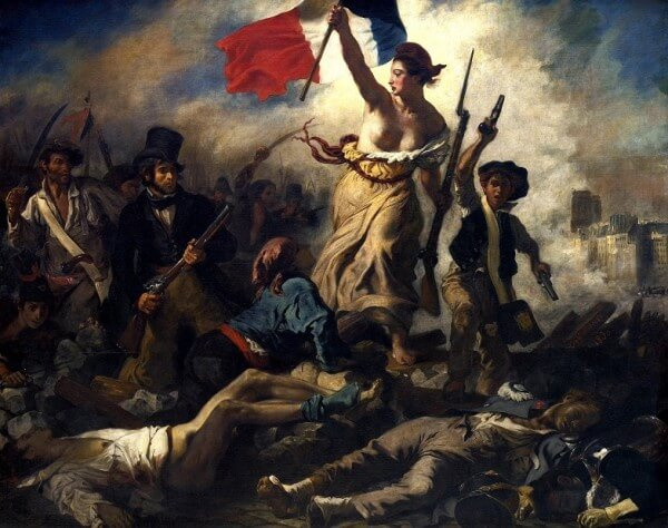 Liberty Leading the People – Eugène Delacroix
