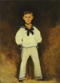 Portrait of Henry Bernstein as a Child - Édouard Manet