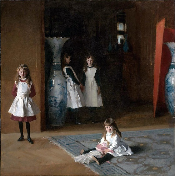 The Daughters of Edward Darley Boit – John Singer Sargent