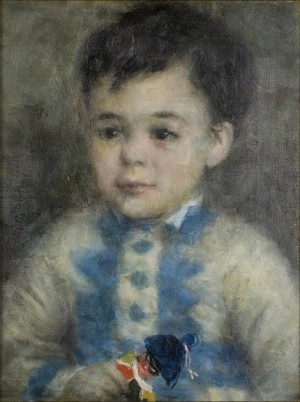 Boy with a Toy Soldier - Pierre-Auguste Renoir