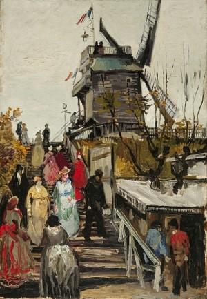 Le Moulin de blute-fin - Vincent van Gogh
