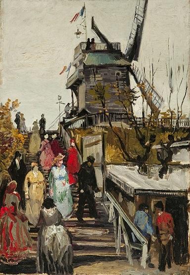 Le Moulin de blute-fin – Vincent van Gogh