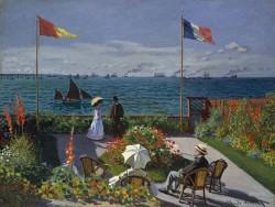 Garden at Sainte-Adresse - Claude Monet