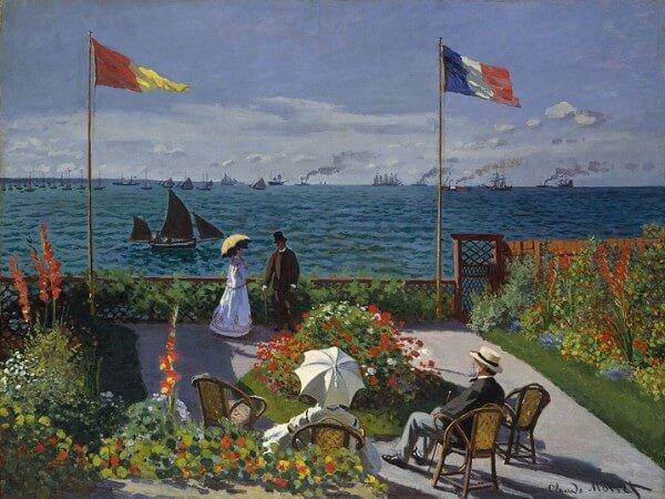 Garden at Sainte-Adresse – Claude Monet