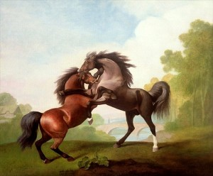 Fighting Stallions - George Stubbs