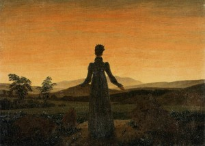 Woman before the Rising Sun - Caspar David Friedrich