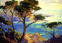 A Lonely Headland Point Lobos - Franz Bischoff
