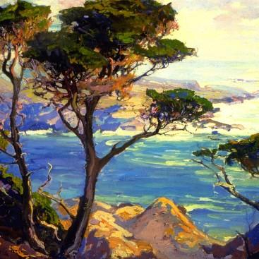 A Lonely Headland Point Lobos - Franz Bischoff