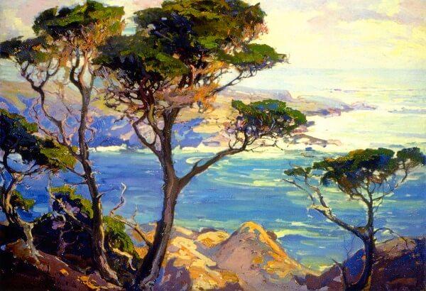 A Lonely Headland Point Lobos – Franz Bischoff